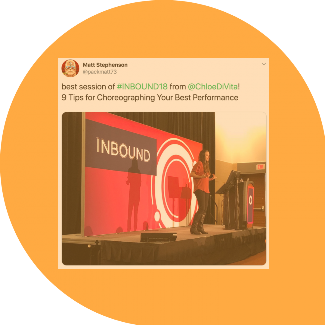 Chloe at Inbound