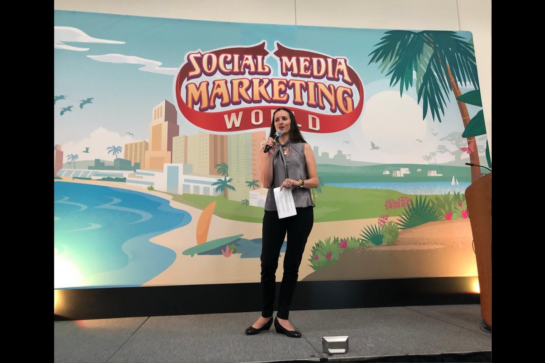 Speaking at Social Media Marketing World